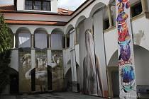 Některá místa města Znojma nyní ožívají vizuální tvorbou.