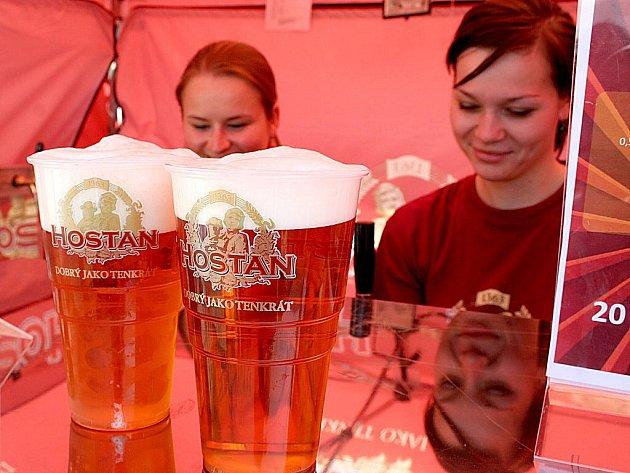 Pivní slavnosti ve Znojmě.
