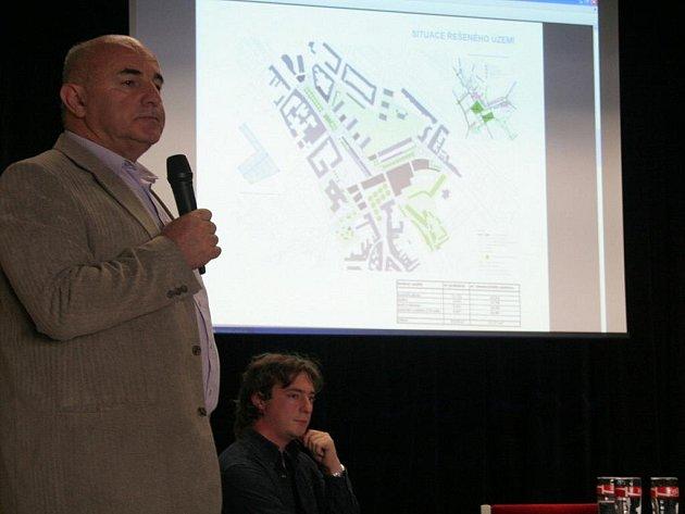 Architekti prezentovali své představy náměstí