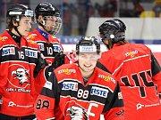 Kapitán juniorky Orlů Martin Kosnar je nejproduktivnějším hráčem týmu.