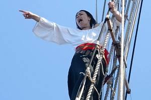 Skupina natáčela svůj výpravný pirátský videoklip na moři, na replice české korzárské lodi La Grace, která brázdila vlny Karibiku v první polovině 17. století.