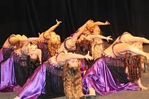 Přehlídka orientálních tanců zaplnila v sobotu odpoledne znojemské divadlo.