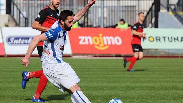 Fotbalisté Znojma přivítali na svém pažitu v rámci 27. kola druhé ligy celek MAS Táborsko.