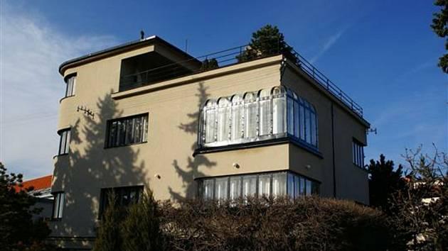 Znojemskou Marešovu vilu projektoval architekt Jan Víšek.