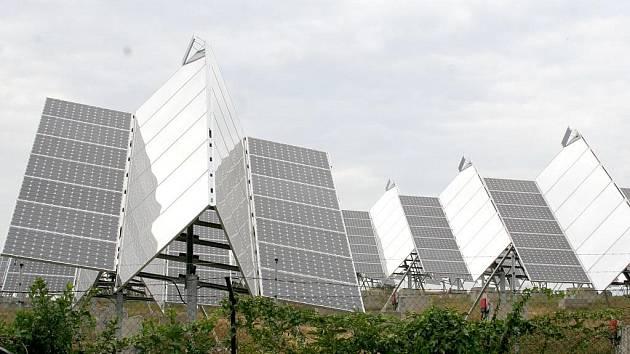 Fotovoltaická elektrárna u Moravského Krumlova