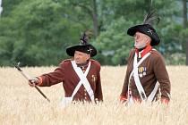 U Dobšic se stovky lidí podívaly na rekonstrukci bitvy z roku 1809.