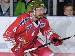 Hokejový obránce Sean McMonagle.