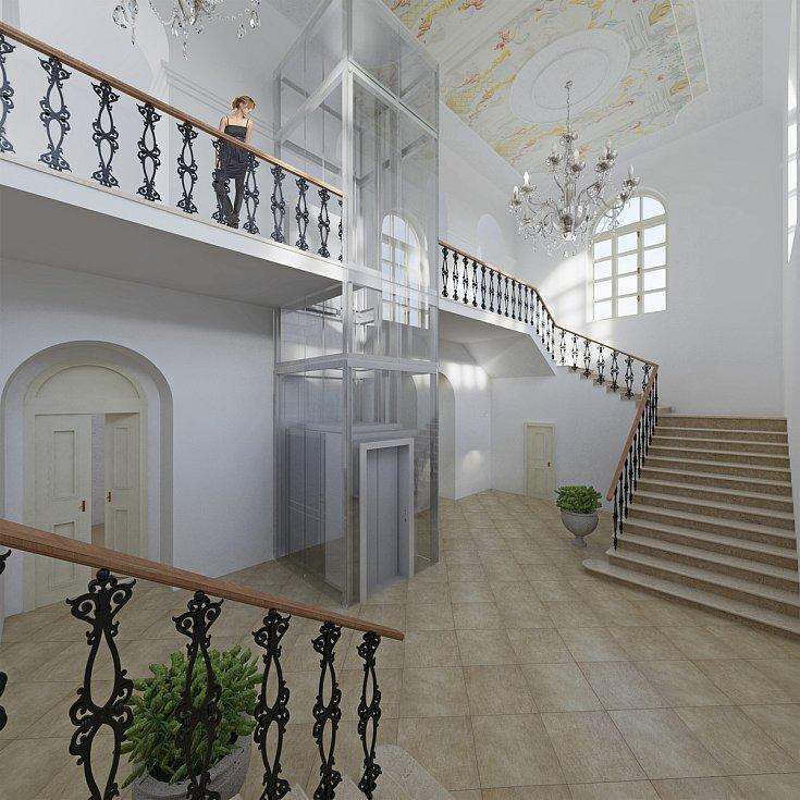 Chátrající zámek v Hrušovanech nad Jevišovkou opraví. Vznikne tam obřadní síň, koncertní a taneční sál i zázemí pro ZUŠ. Také muzeum Hrušovanska. Malby tam zanechal i malíř Alfons Mucha.