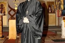 Už dvanáctým rokem je Luděk Lukáš Nešpor pravoslavným farářem ve znojemském kostele sv. Rostislava.