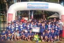 Hráči znojemské U11 a U12 na konci června absolvovali mezinárodní Brioni CUP v Chorvatsku.