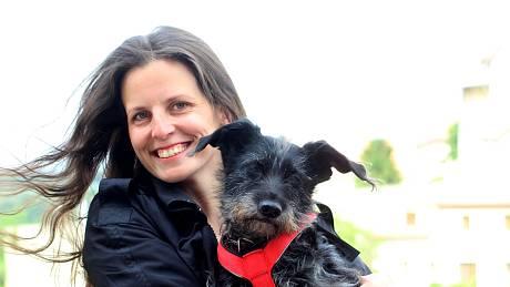 Valerie Kozelská se svojí Kofi.