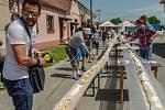 K výročí deseti let od navrácení titulu městyse Lukovští překonali český rekord. Napekli 154 metrů štrůdlu. Zapojily se desítky nadšenců.Vše řádně změřil a zdokumentoval zástupce agentury Dobrý den David Martínek.