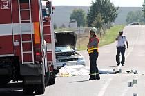 Tragická nehoda u Konic skončila smrtí motorkáře.