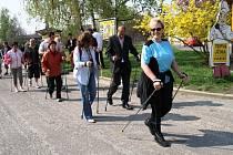 Jaroslavice otevřely walkingovou Cestu dvěma zeměmi