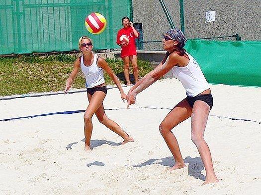 Beach volejbal ve Znojmě