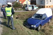 Nehoda v Kasárnách na Znojemsku