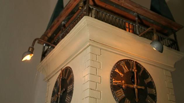 Znojemské muzeum opravilo maketu radniční věže