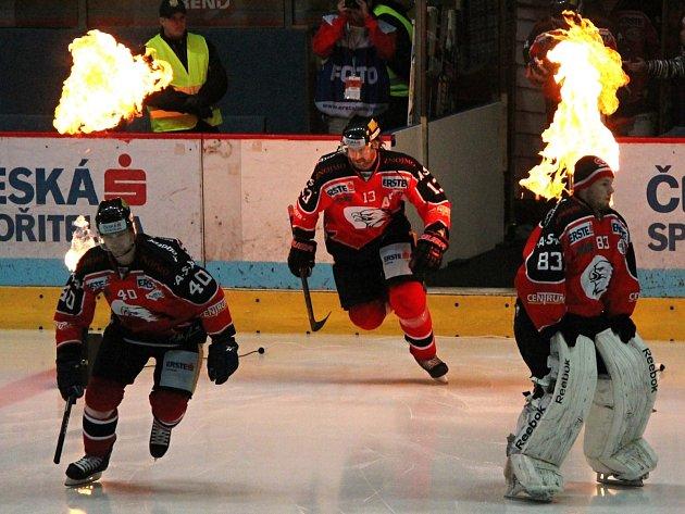 Znojmeští hokejisté nastupují v mezinárodní soutěži EBEL.