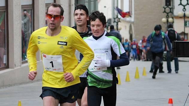 První adventní neděli vyběhli na znojemská náměstí sportovci z různých koutů České republiky.