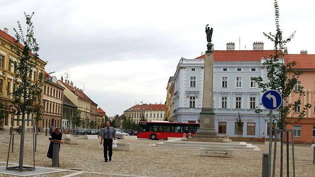 Nová podoba Komenského náměstí.