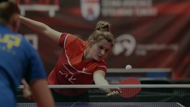 Stolní tenistka extraligového týmu Moravského Krumlova Nikita Petrovová absolvovala svůj klub i na letošním republikovém mistrovství v Havířově.