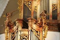 V klání o nejlépe opravenou památku soutěží i zrenovované varhany v kostele Nanebevzetí Panny Marie ve Vranově nad Dyjí.
