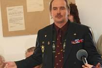 Vojenský historik a badatel Václav Alexa.