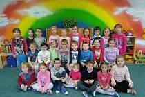 Děti z MŠ Tasovice.