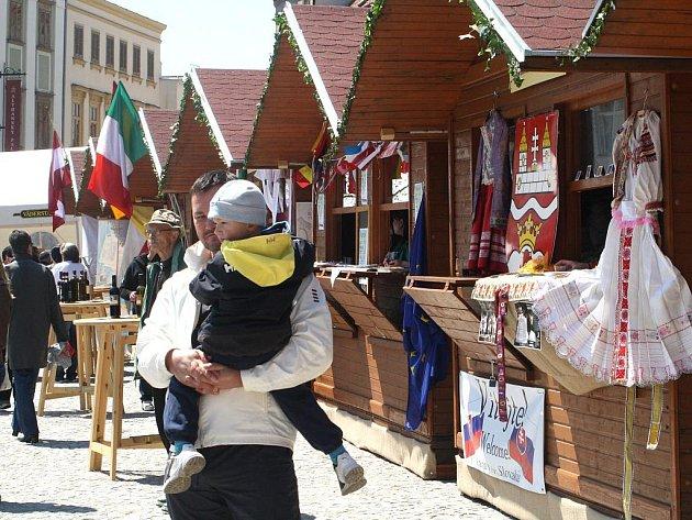Májové slavnosti ve Znojmě.