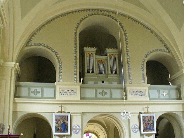 Bohutický kostel.