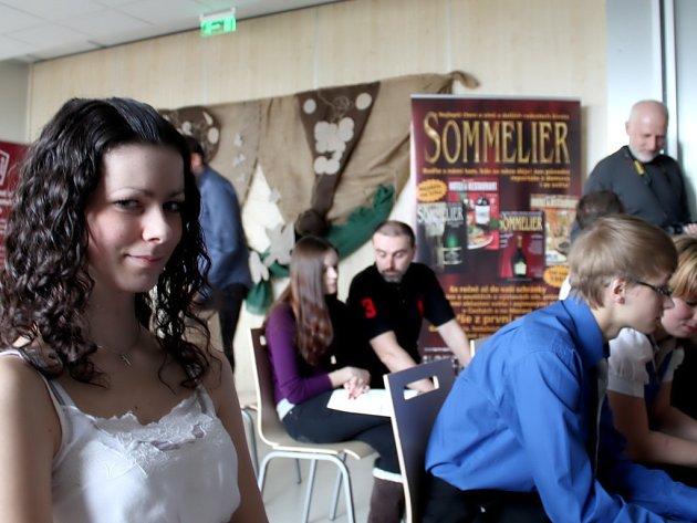 Mezinárodní soutěž pro budoucí sommeliéry ve Znojmě.