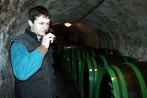 Marek Líbal, syn zakladatele vinařství, převezme hlavní trofej z okresní výstavy už podruhé.