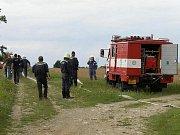 Dobrovolní hasiči z Rakšic.