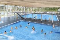 Takto má podle architektů vypadat nový krytý plavecký bazén ve Znojmě-Louce.
