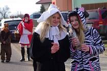 Prosiměřice slavily masopust tradičně o týden dříve.