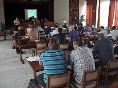 Zasedání znojemského zastupitelstva. Ilustrační foto.