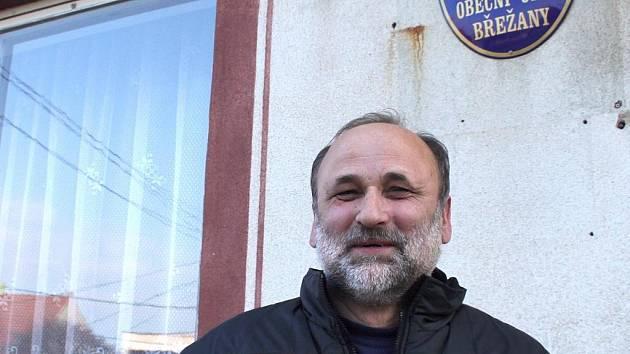 Bývalý starosta Břežan Josef Rebenda.