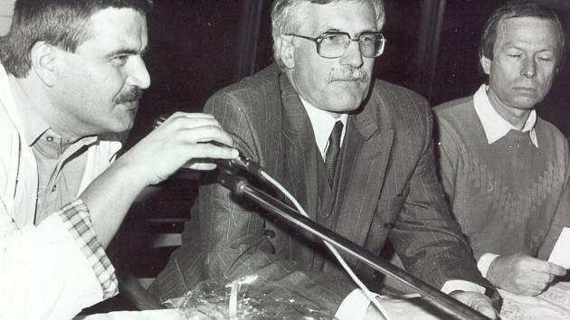 Martin Syka s Václavem Klausem