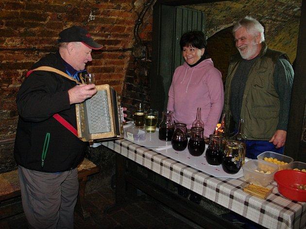 Již po desáté otevřeli v sobotu své sklepy vinaři v Dobšicích. Jubilejní ročník přilákal přes pět stovek přátel dobrých vín.