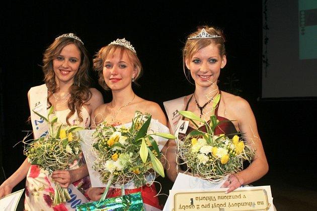 Miss Znojmo 2008. Zvítězila patnáciletá Lucie Částková.