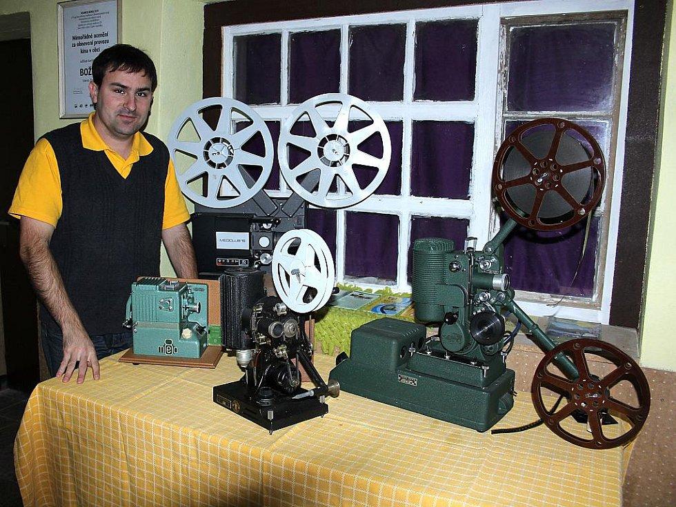 Prvním kouskem Hudcovy sbírky byla promítačka z roku 1939. Kino v Božicích na Znojemsku díky jeho péči jako jediné v republice stále promítá filmy na projektorech z roku 1948.