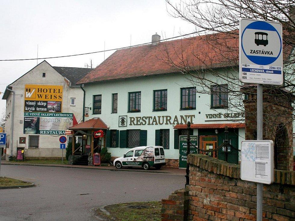 Reklamu nejen v republice, ale také za hranicemi dělá obci známý vinařský podnik Vinné sklepy Lechovice.