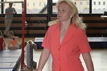 Trenérka znojemských gymnastů a gymnastek Ivana Hýbnerová