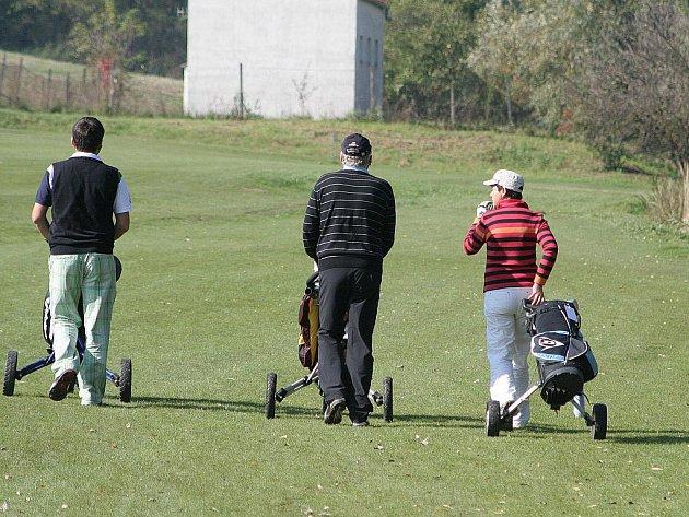 Golfový turnaj O pohár starosty města Znojma.