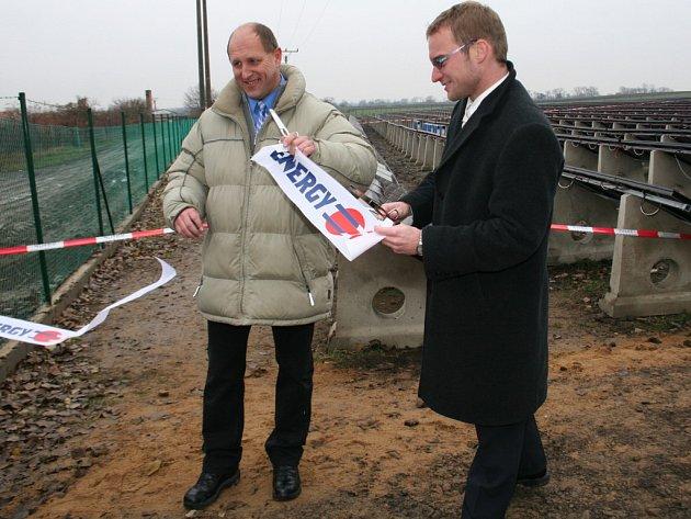 Slavnostní otevření jaroslavické elektrárny