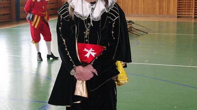 Z Milana Štěpána je dnes svobodný učitel šermu