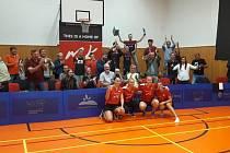 Radost z výhry měly třetí zářijovou sobotu stolní tenistky z Moravského Krumlova, když poprvé v historii postoupily do Ligy mistryň. Porazily španělský Linares 3:0.