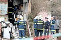 Při požáru rodinného domu v Tvořihrázi zemřel člověk.
