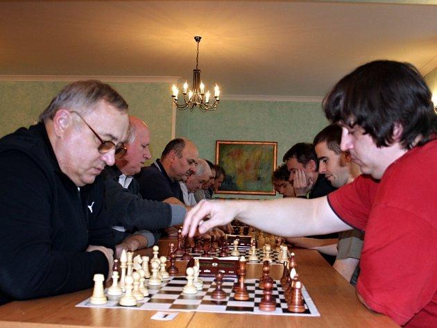 Vánoční šachový turnaj ve Znojmě.