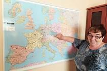 Anna Počarovská připravila virtuální pouť do Compostely. Kilometry bude sbírat na rotopedu.